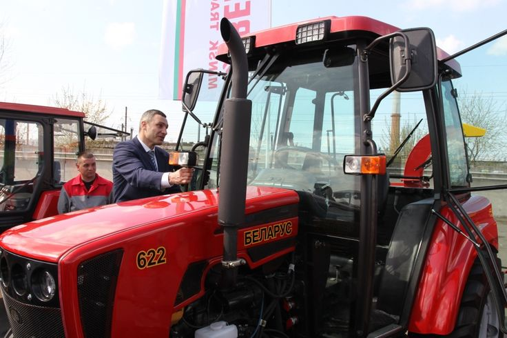 Виталий Кличко выбрал «Беларус-622» - ОАО «БЗТДиА»