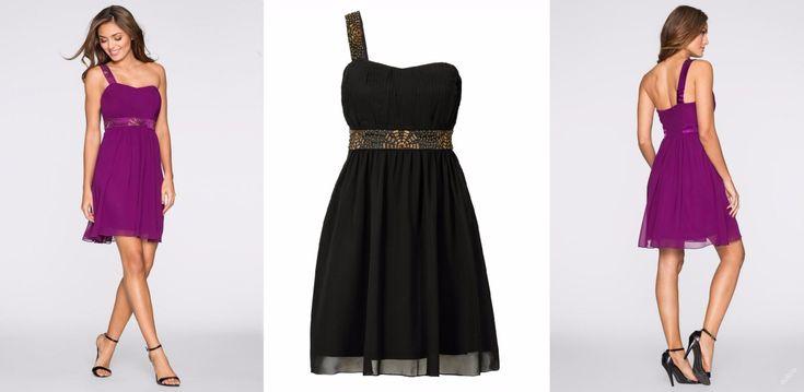 * NOVÉ  ,,BODY FLIRT krásné šaty na 1 rameno vel.36,38,40,44,46 - 3barvy :: AVENTE  ...móda s nápadem