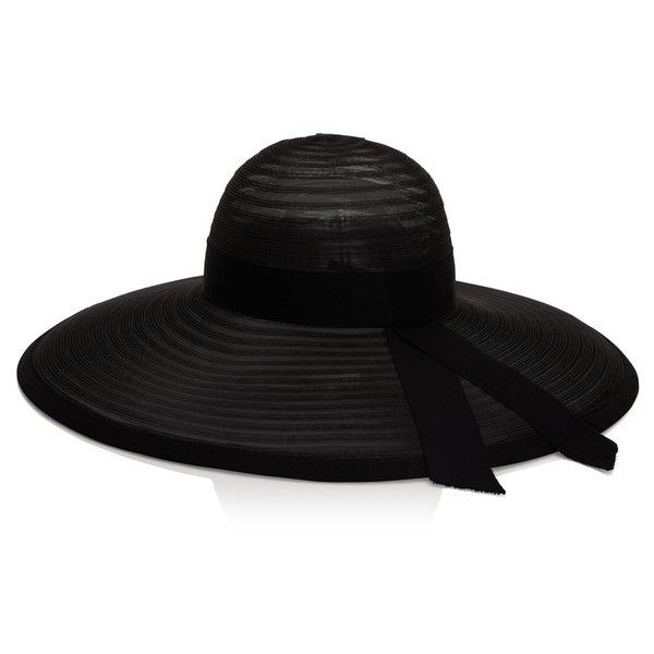 Eugenia Kim Bunny Sheer Hat (12 240 UAH) ❤ liked on Polyvore featuring accessories, hats, black, wide brim hats, mesh hats, eugenia kim, brimmed hat and eugenia kim hats