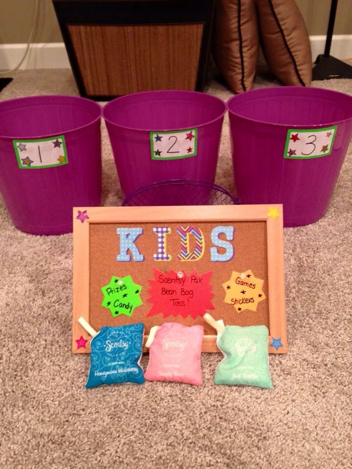 Scent pak game for kids at vendor events! HTTPS://natalieyoung.scentsy.us