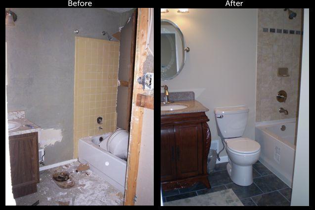 22 best powder room images on pinterest bathroom for Bathroom remodel 1960s