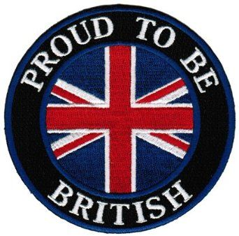 union jack clothes and shoes for babies | ... Patch English Union Jack Flag Iron-On UK Biker Emblem: Clothing