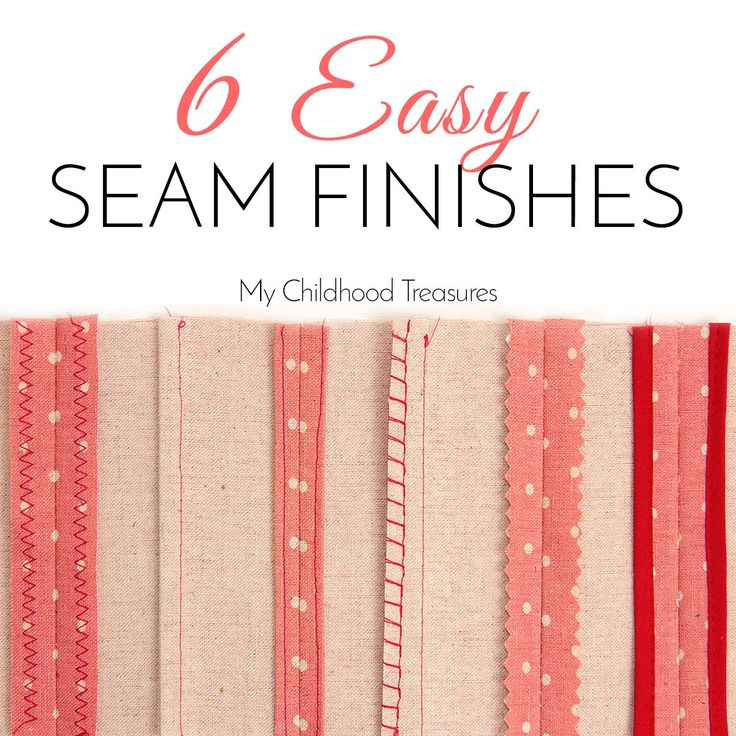 Seam Finishes: The 6 BEST Seam Finishes without a Serger