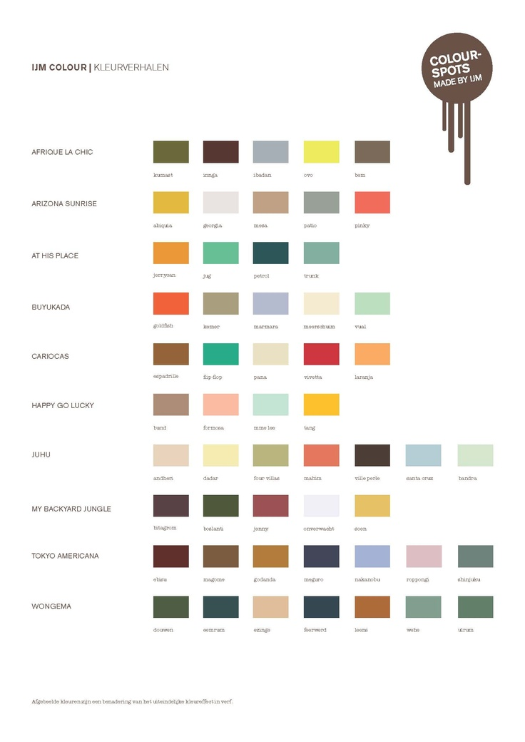 Studio IJM paint colors