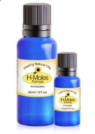 Introducing H-Moles Formula. The natural mole treatment alternative!Take care of benign skin moles in the comfort of your own home, without having to visit laser therapy and cryotherapy clinics. All you need to do is apply daily and our product safely doe