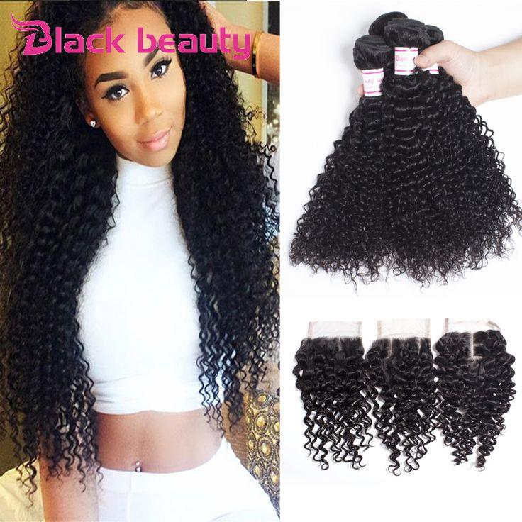 peruvian curly hair with closure 7a peruvian virgin hair with closure human hair peruvian kinky curly virgin hair with closure