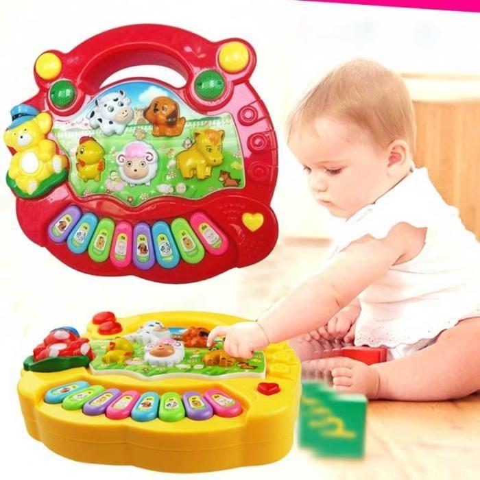 Funny Kid Baby Boy Girls Musical Educational Toy Piano Developmental Music Toys