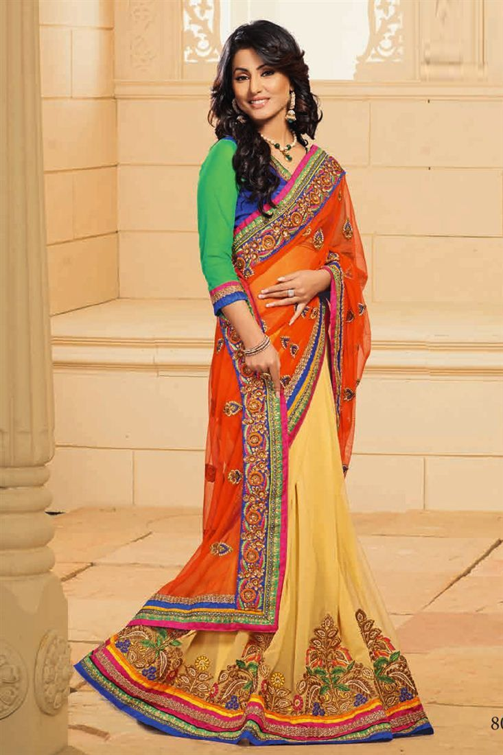 Akshara stylish saree collection fotos