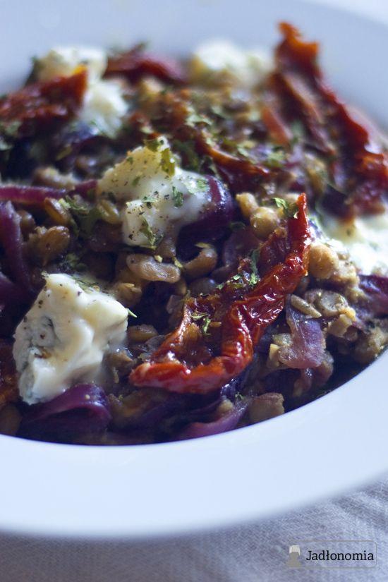 Jadłonomia: soczewica z gorgonzolą