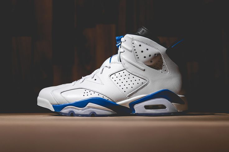 Air Jordan 6 Retro White/Sport Blue