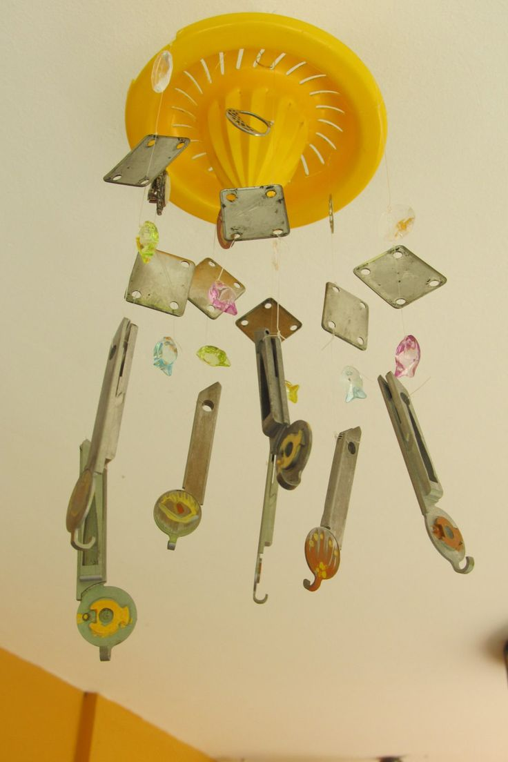 41 best My Shop Recycled Art Mobiles images on Pinterest | Recycled ...