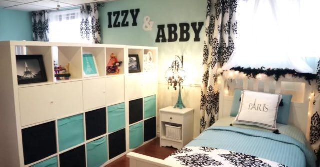 Mom Transforms Her Basement Into A Fabulous Split Bedroom