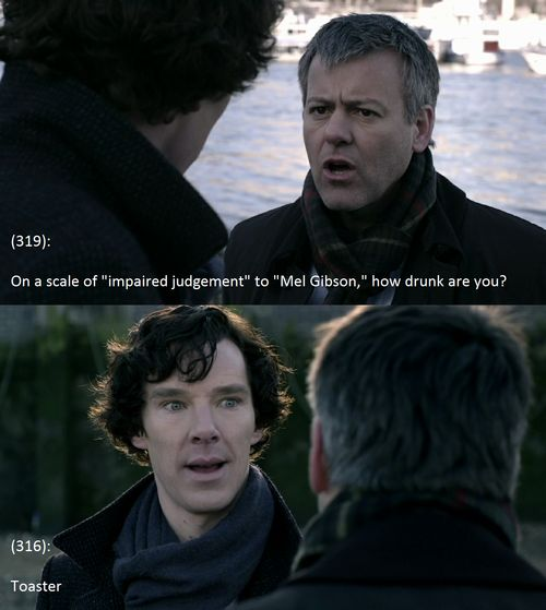 Brilliant. Simply Brilliant.  Texts From 221b Baker Street