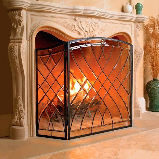 Best 20+ Fireplace screens ideas on Pinterest | Farmhouse ...