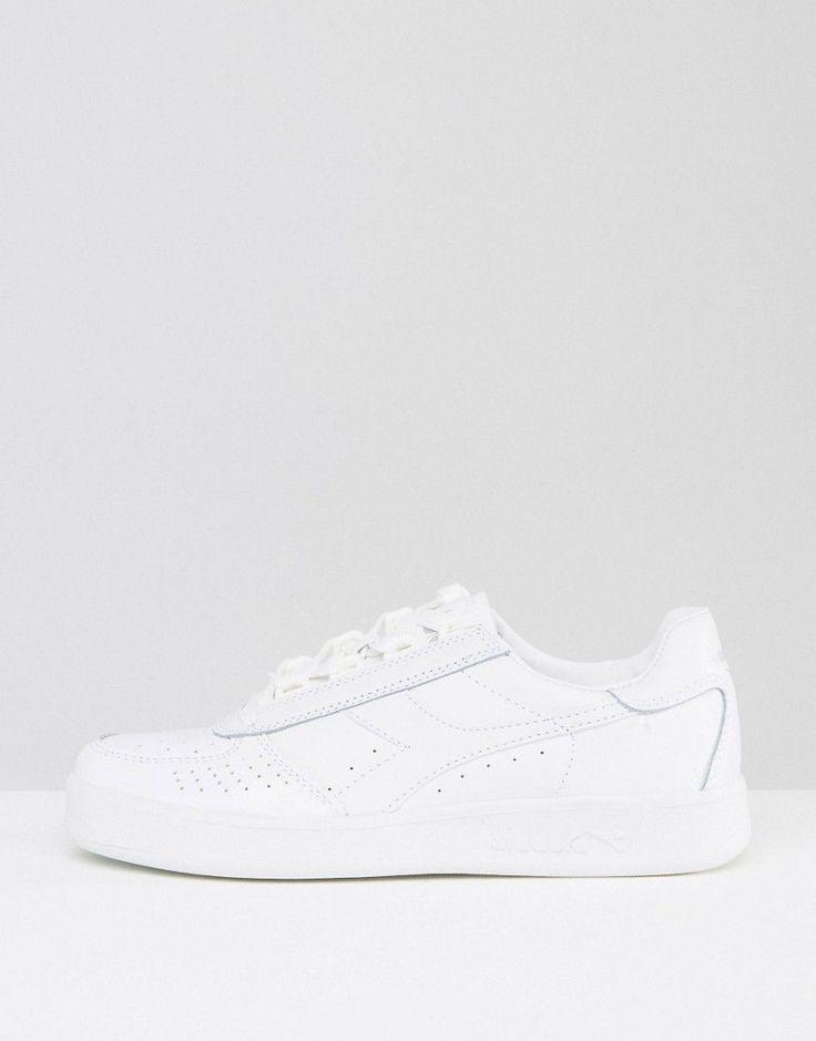 Diadora B. Elite All White Sneakers - White