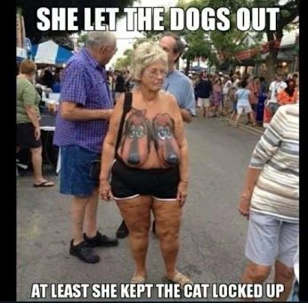 At Least She Kept The Cat Locked Up,  Click the link to view today's funniest pictures!