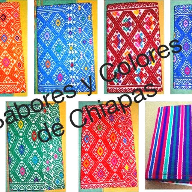 Libretas forradas de telar de cintura de Chiapas #chiapas #artesanias #souvenirs #regalos #mexico