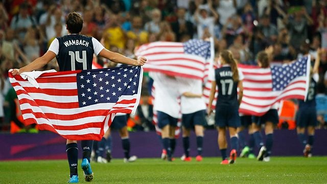 Destiny Is Ruthless- Brian Phillips on the USWNT and the gold-medal game. really, i just like the image of obama threatening to drop nukes on norway or switzerland if the referees didn't call the plays in the US's favor