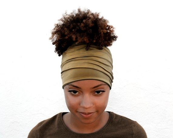 Camel Brow Boho Headband Wide Headband Yoga Headband Running Headband Head Scarf Head Wrap Eco Friendly Package Luxury Headband   – Products