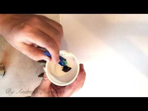 Как покрасить фурнитуру для шкатулки.... Обсуждение на LiveInternet - Российский Сервис Онлайн-Дневников