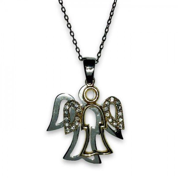 Melek gümüş kolye | bk004