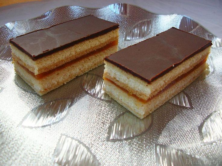 Ditta tortái: Mézes krémes