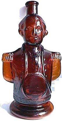 Antique Figural Bitters Bottle Hall of Fame
