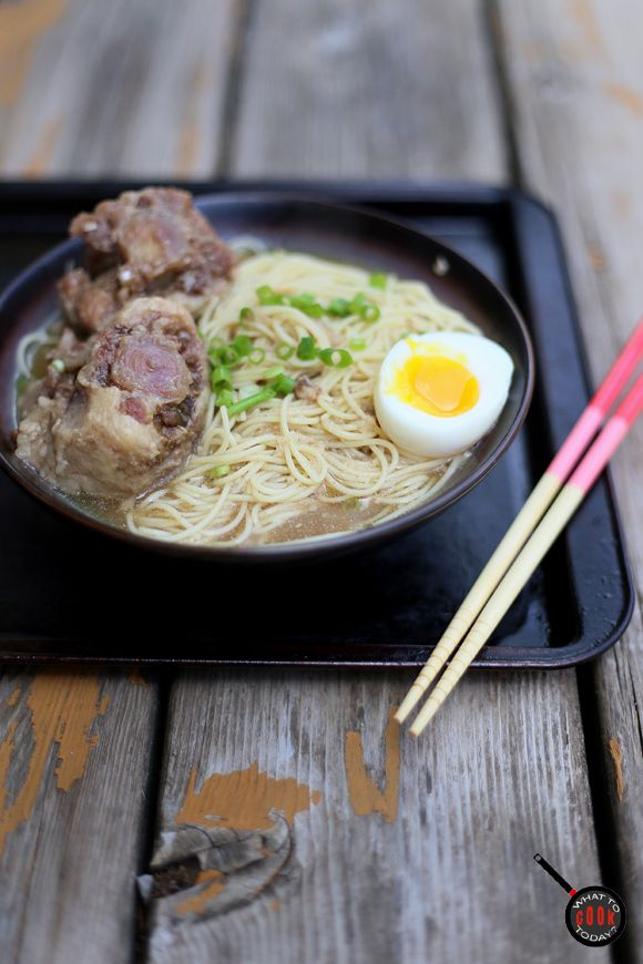 OXTAIL SHIO RAMEN | What To Cook Today.  Such a delicacy !!
