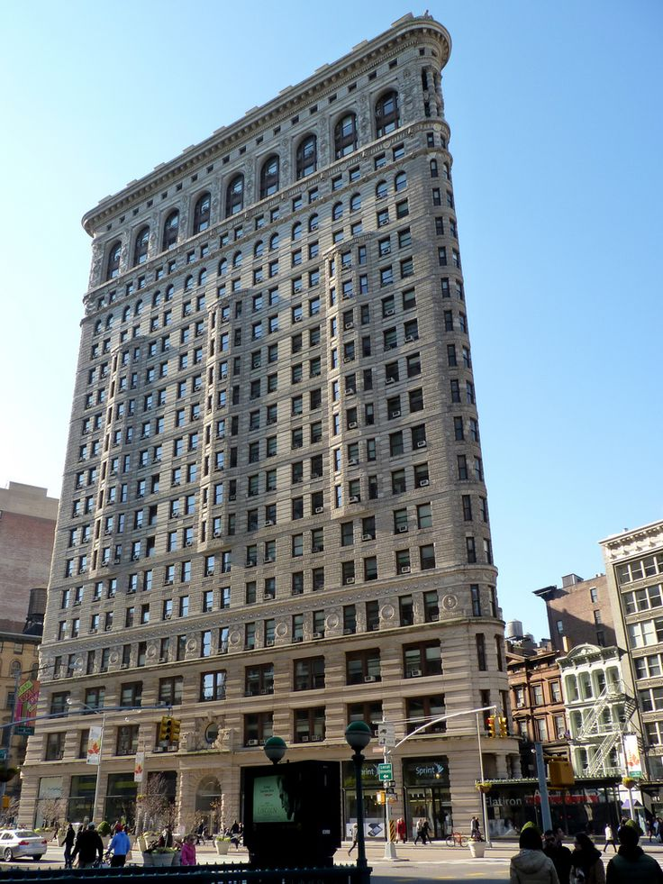 Daniel Burnham Buildings Chicago Flatiron Building
