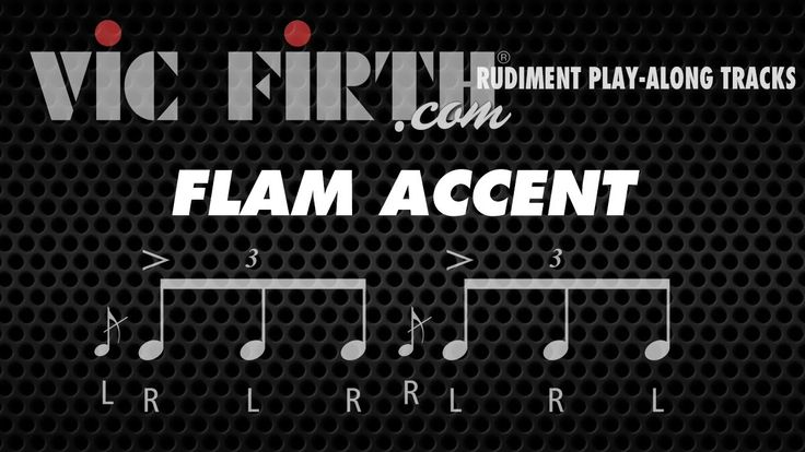 Flam Accent: Vic Firth Rudiment Playalong