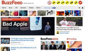 BuzzFeed is to split into news and entertainment units