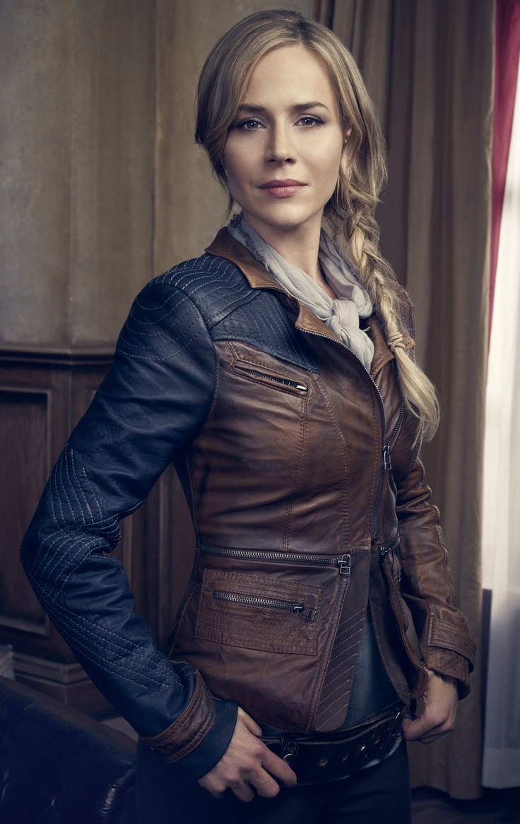 Julie Benz as  Amanda Rosewater; Defiance, Syfy, 2013
