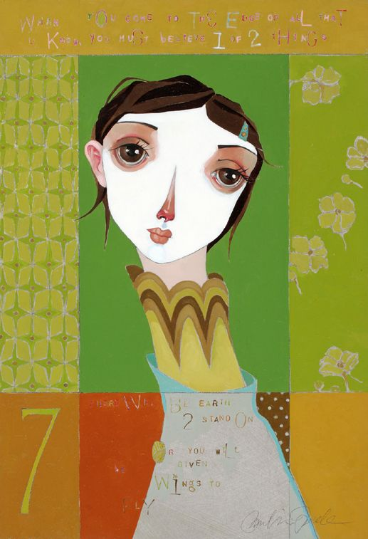 Olive - part of the Lime series by Melissa Peck