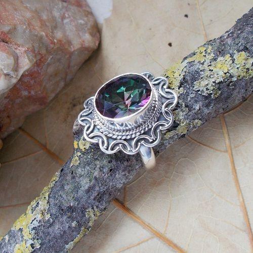 Mystic Topas, Ring, Ø 18,0 mm, 925 Sterling Silber in Uhren & Schmuck, Echtschmuck, Ringe | eBay!