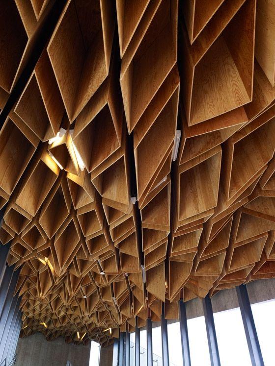 Hoshakuji station in Tochigi: designed by Kengo Kuma & Associates, Japan