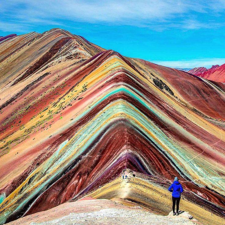 Rainbow Mountain, Peru