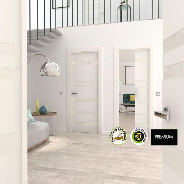 10 best puertas images on pinterest merlin white doors - Puertas de aluminio leroy merlin ...
