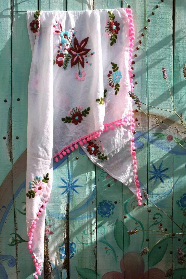Prachtige sjaaltjes van Chica Bonita
