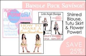 Bundle Pack Shirred Blouse Tutu Skirt and by littleangelsboutique, $23.00
