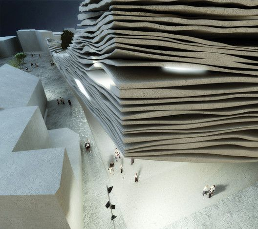 ISMOF - International School Museum of Flamenco / MUS Architects,Courtesy of MUS architects