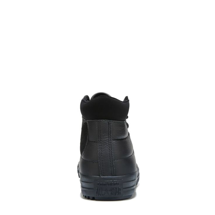 Converse Chuck Taylor All Star Boot PC Leather Sneaker Boots (Black/Black) - 10.5 M