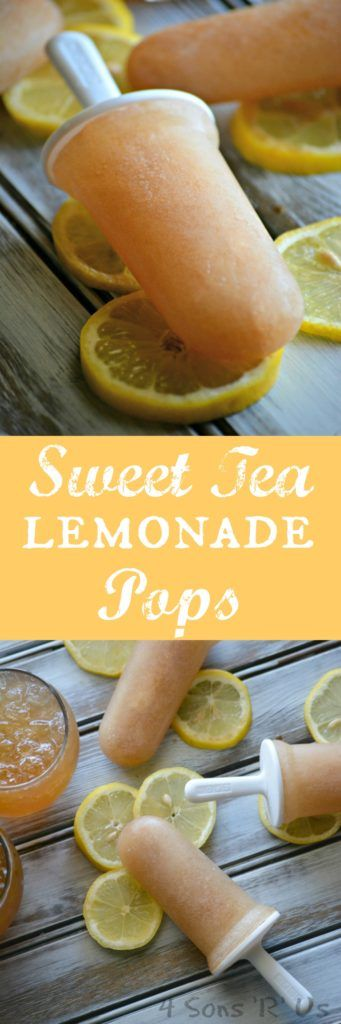 Two of Summer's most refreshing flavors– sweet iced tea and lemonade– are mixed…