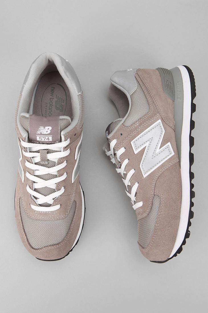 I will still always associate NB with old white men but I'm actually diggin' these   •New Balance 574 Sneaker•