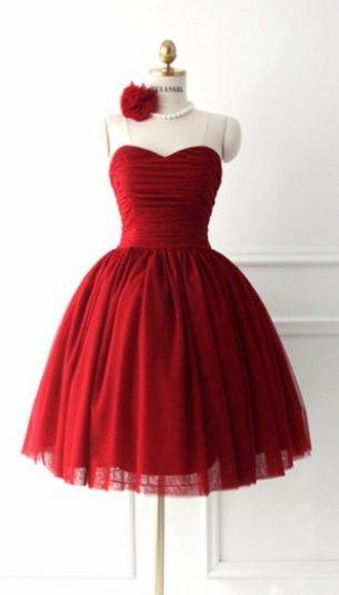 Short Mini Homecoming Dresses, Red Short/Mini Homecoming Dresses, Mini Short Homecoming Dresses, Mini Homecoming Dresses, Short Homecoming Dresses, Red Sweetheart Handmade Simple Cute Homecoming Dresses, Red Homecoming Dresses, Cute Homecoming Dresses, Red Mini dresses, Short Red dresses, Simple Homecoming Dresses, Cute Short Dresses, Cute Red Dresses, Red Short Dresses, Homecoming Dresses Short, Short Red Homecoming Dresses