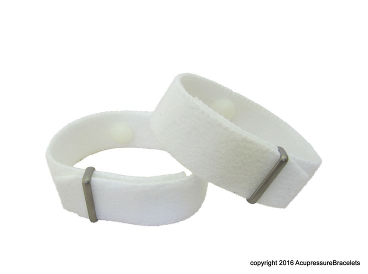 Extra Strength Motion Sickness Wristbands for Wet/Dry Conditions (White) Nausea, Anxiety  #naturalhealth #acupressure #acupuncture #anxiety #nausea #naturopathy #nervousness #motionsickness #morningsickness #Insomnia #indigestion #pregnancy #palpitations #menopause #stress #travel #acupunctureforanxiety
