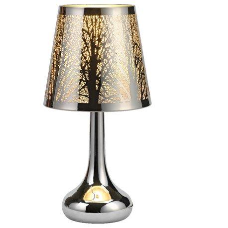 Säregen design och innovativ av/på-funktion! Denna snygga lampa tänds genom att trycka på lampfoten.