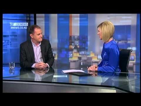 Ashley Church on TV3 Firstline (2011)