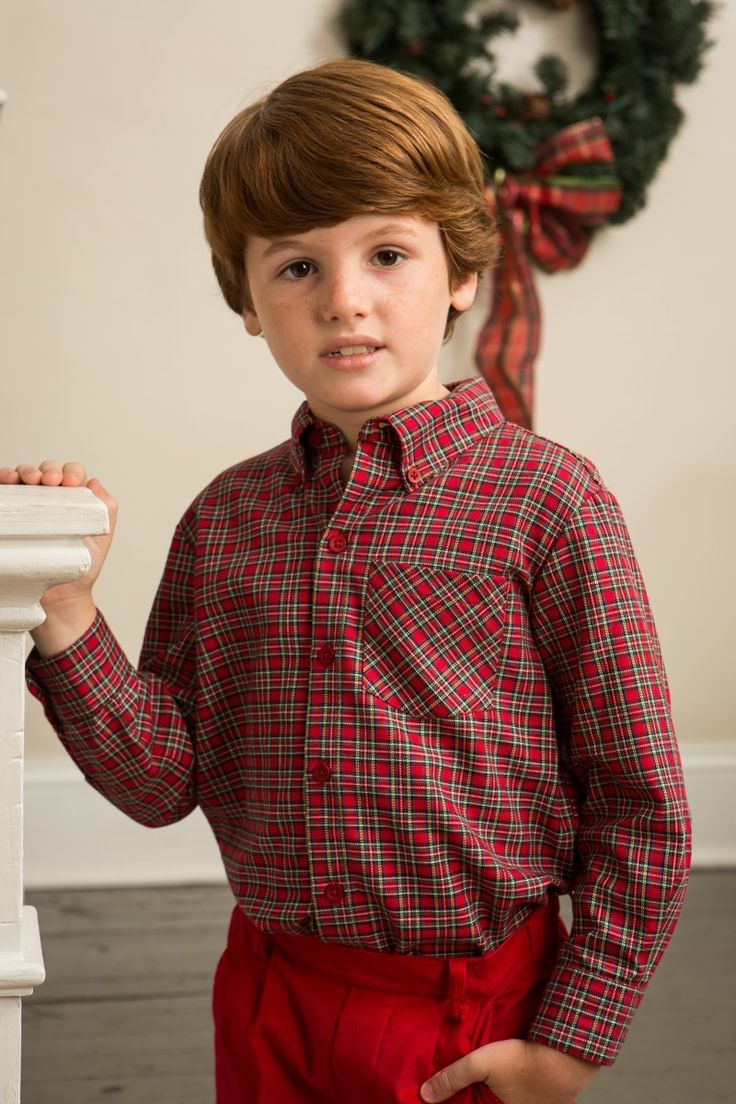 Handsome Holiday looks by Crescent Moon Children