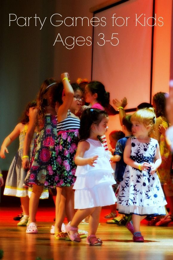 Exciting Party Games For Kids Ages 3 5