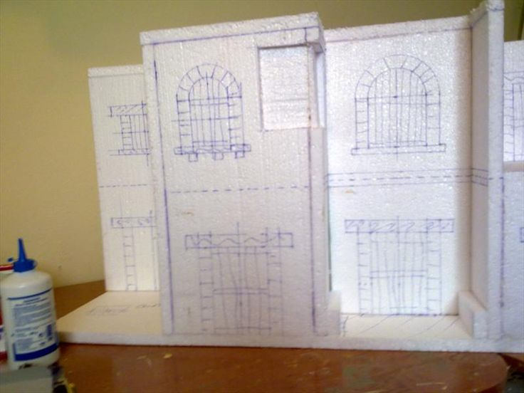 Foro de Belenismo - Proyectos en desarrollo -> Casas en construccion.